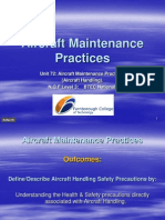 Aircraft Maintenance Practices 01A Handling Safety