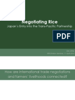 Negotiating Rice
