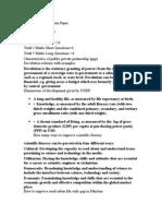 VU Current Final Term Paper