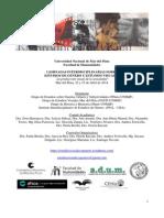 Programa I Jornadas Interdisciplinarias sobre Estudios de Género y Estudios Visuales