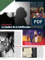 Víctor Humareda - La sombra de la falsificación