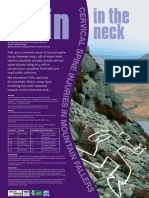 Cervical Spine Injuries in Snowdonia mountain casualties - Conference Poster