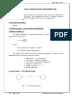 Computation of Transmission Lines Parameters-ex1