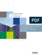 12B0014X00 Anixter Solar Brochure ECS en US