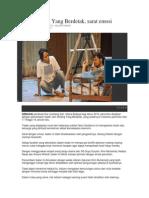Review Jam Dinding Yang Berdetak Lambang Sari 2014