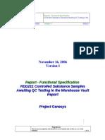 FS RDD211 Controlled Samples in Mfg Vault v1_011007