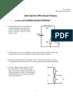Circuit Problems 2012