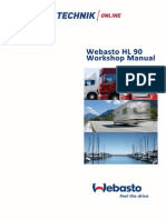 Webasto HL90 Workshop Manual