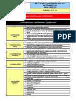 Programación para familias P6. 3er trimestre. Curso 2013-14 (1)