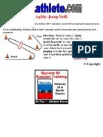 Drill Sheet Agility Jump Drill