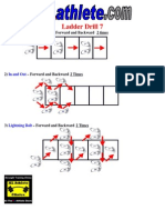 Drill Sheet Ladder Drill 7