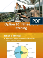 Fitness IB biology B5