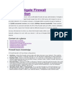 Basic Fortigate Firewall Configuration docx | Ip Address