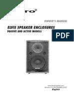 ALTO Zvucnici Specifikacije