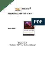 9781782172673_Implementing_NetScaler_VPX™_Sample_Chapter