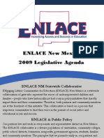 2009 ENLACE Legislative Agenda