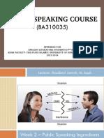 Public Speaking (W2) PDF