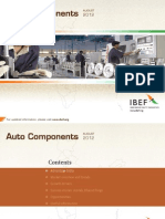 IBEF Auto Components 261112