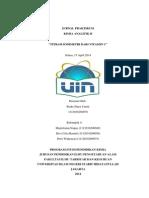 Kimia Analitik Titrasi Iodimetri, Chemistry