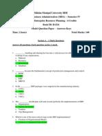 MI0038-MQP With Answer Keys