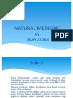 Silvy Aldila_Natural Medicine
