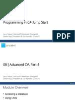 C-Jumpstart Module 8