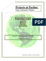 Team Green Purdue, White Paper Project (pdf)