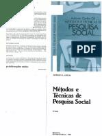 Gil a c Mc3a9todos e Tc3a9cnicas de Pesquisa Social 1989 (1)