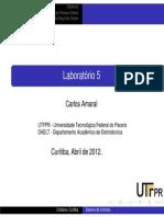 10_1 - Lab 5 - Sistemas de 1 e 2 Ordem