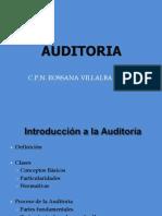 Proceso y Tipos de Auditoria 1ra. Clase