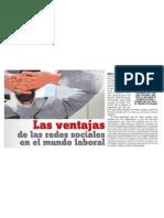 Redes Sociales en la Empresa / LPG 21 de Abril de 2014