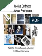 6-Materiais Cermicos - Estruturas e Propriedades (1)