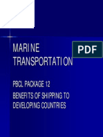 4812LECTURE 12 - Benefits of Shipping