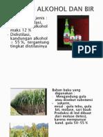 Industri Alkohol Dan Bir