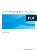 DocuPrint M205 Series User Guide English