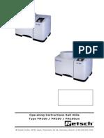 Manual de Utilizare PM100
