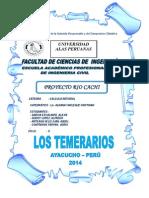 Proyecto Rio Cachi