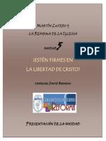 Lutero y La Reforma Presentacion Unidad 5