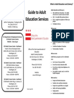 OSSE Guide to Adult Education Services 2011