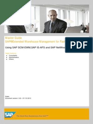 Sap Ewm for Fshn Mg Enen | Business Process | Enterprise Resource