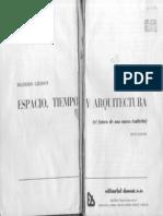 Giedion Espacio Tiempo Arquitectura Indice_3