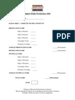 420 digital media production presentation rubric 2014