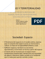 Sesión 3 Territorio y territorialidad