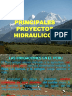 Segunda Sesion Principales Proyectos Hidraulicos