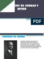 Ejercicios de Codman y Risser