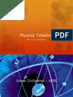 physics timeline