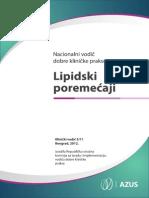 Vodic Za Dijagnostikovanje i Lecenje Lipidskih Poremecaja Vodic za dijagnostikovanje i lecenje lipidskih poremecaja