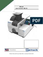 Manual de Utilizare Concasor cu Falci BB50