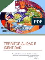 Sesión 4 Territorialidad e identidad