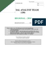 150 financial analyst team r 2014